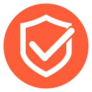 Orange reliability icon